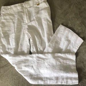 White Pants by Ellen Tracy